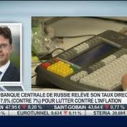Russie: S&P abaisse sa note de solvabilité àBBB-: Benoît Anne, dans Intégrale Bourse –