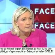 Le Pen à Filippetti: