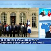 Un député PS à Valls: Je crois qu'il a compris qu'on ne pouvait pas continuer comme avant