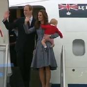 Kate, William et George achèvent leur voyage en Australie