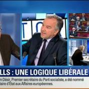 BFM Story: Discours de politique générale: le fond de la logique économique libérale de Manuel Valls