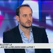 La religion dans la pub: Frank Tapiro, Valéry Pothain et Charlotte Bricard, dans A vos marques – 2/2
