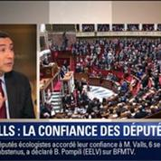 Le Soir BFM: Discours de politique générale: Manuel Valls obtient la confiance des députés 1/2
