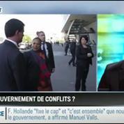 Le parti pris d'Hervé Gattegno: Le gouvernement de combat sera un gouvernement de conflits