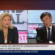Jean-Pierre Jouyet, directeur général de la Caisse des Dépôts et Consignations, dans Le Grand Journal - 3/4