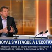 Le Soir BFM: Écotaxe: Ségolène Royal veut remettre les choses à plat 1/3