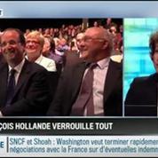 RMC Politique: Élysée, PS et Matignon: François Hollande verrouille tout