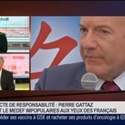 Philippe Louis, président de la CFTC, dans Le Grand Journal 4/4