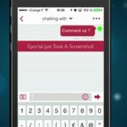 Cyberdust : Un Snapchat pour vos messages (test appli smartphone)