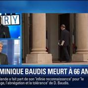 BFM Story: Dominique Baudis, le défenseur des droits et ancien maire de Toulouse est mort à l'âge de 66 ans