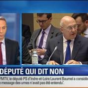 BFM Story: Plan d'économies: Laurent Baumel, le député qui dit non