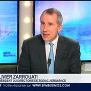 Zodiac Aerospace a inauguré un nouveau laboratoire travaillant sur l'avion électrique à Montreuil, Olivier Zarrouati, dans GMB –
