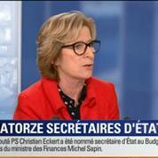 BFM Story: Quatorze secrétaires d'État complètent le gouvernement Valls