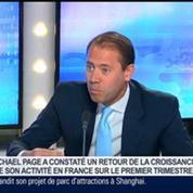 Michael Page améliore ses résultats, Fabrice Lacombe, dans GMB –