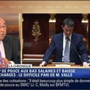 L'Éco du soir: Les entreprises sont les grandes gagnantes du discours de la politique générale de Manuel Valls