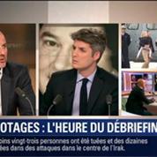 Le Soir BFM: L'heure du débriefing des ex-otages de Syrie 1/5