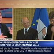 Direct de Gauche: Contre toute attente, le duo Michel Sapin / Arnaud Montebourg à la tête de Berçy va bien s'entendre