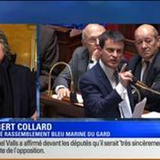 BFM Story Édition spéciale sur le discours de Manuel Valls à l'Assemblée nationale 5/7