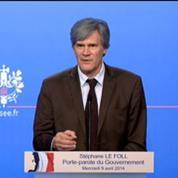 Hollande prive ses ministres de téléphone pour qu'ils soient concentrés