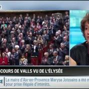 RMC Politique: Le discours de Manuel Valls vu par l'Élysée