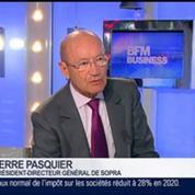 Steria et Sopra vont s'unir: François Enaud et Pierre Pasquier, dans GMB –