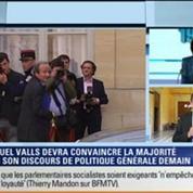 19H Ruth Elkrief: Thierry Mandon s'est penché sur le vote de confiance de Manuel Valls