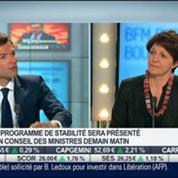 Le programme de stabilité de la France sera présenté début mai à Bruxelles: Véronique Riches-Flores, dans Intégrale Bourse –