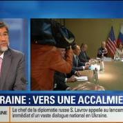 BFM Story: Ukraine: Vers une accalmie?