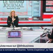 Pierre Louette, président de la Fédération Française des Télécoms, dans Le Grand Journal 3/4
