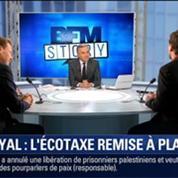 BFM Story: Ségolène Royal souhaite remettre à plat l'écotaxe