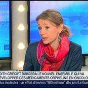 BioAlliance Pharma fusionne avec Topotarget, Judith Gréciet, dans GMB –