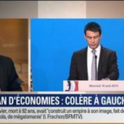 Le Soir BFM: Déficit: Manuel Valls dévoile ses pistes pour trouver 50 milliards d'euros d'économies 1/4