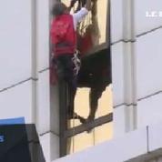 Le «Spider-Man français» escalade un hôtel en Chine
