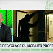 Le recyclage du mobilier professionnel: Arnaud Humbert-Droz et Gilles Berhault, dans Green Business – 2/4