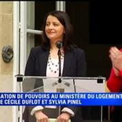 Ministère du Logement: Cécile Duflot passe le relai à Sylvia Pinel