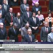 Une minute de silence à l'Assemblée en hommage à Dominique Baudis