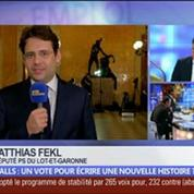 Manuel Valls: ce vote ne va-t-il pas écrire une nouvelle histoire ?, dans Les Décodeurs de l'éco 5/5