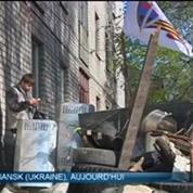 Ukraine: les insurgés pro-russes refusent toujours de quitter les bâtiments occupés à Donetsk