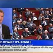 BFM Story Édition spéciale sur le discours de Manuel Valls à l'Assemblée nationale 1/7