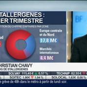 Stallergenes: Hausse de 1,5 % du chiffre d'affaires au premier trimestre 2014: Christian Chavy, dans Intégrale Bourse –
