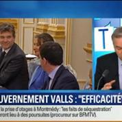 BFM Story: Premier Conseil des ministres: la méthode Valls va-t-elle fonctionner ?
