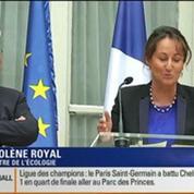 Le Soir BFM: Remaniement: focus sur le retour de Ségolène Royal au sein du nouveau gouvernement 3/4