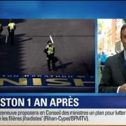BFM Story: Un an après l'attentat, le marathon de Boston accueille 9 000 coureurs de plus