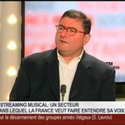 Yves Riesel, fondateur de la plateforme musicale Qobuz, dans Le Grand Journal 3/4