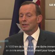MH370 : «Une tâche immense nous attend» selon le Premier ministre australien