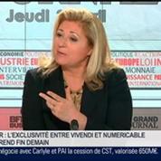 Frédéric Simottel, directeur de la rédaction de 01Business et Emmanuel Duteil, éditorialiste à BFM Business, dans Le Grand Journal - 4/4
