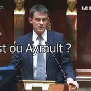 Ce que criaient les députés de l'opposition pendant le discours de Manuel Valls