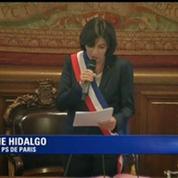 Anne Hidalgo élue maire de la capitale par les conseillers de Paris