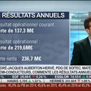 Soitec: retour sur les résultats annuels: André-Jacques Auberton-Hervé, dans Intégrale Bourse –