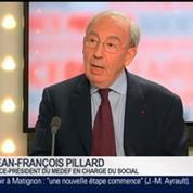 Jean-François Pillard, vice-président du Medef en charge du social, dans Le Grand Journal 1/4